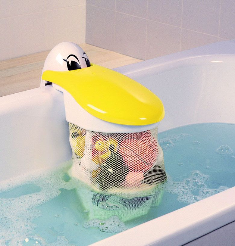 Pelican Bath Toy Storage Pouch | Toys | Pinterest | Bath toy storage ...