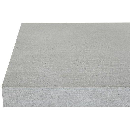 Plan De Travail D Angle Stratifie Concrete 105 X 105 Cm Ep 38 Mm Plan De Travail Stratifie Plan De Travail Plan De Travail Cuisine