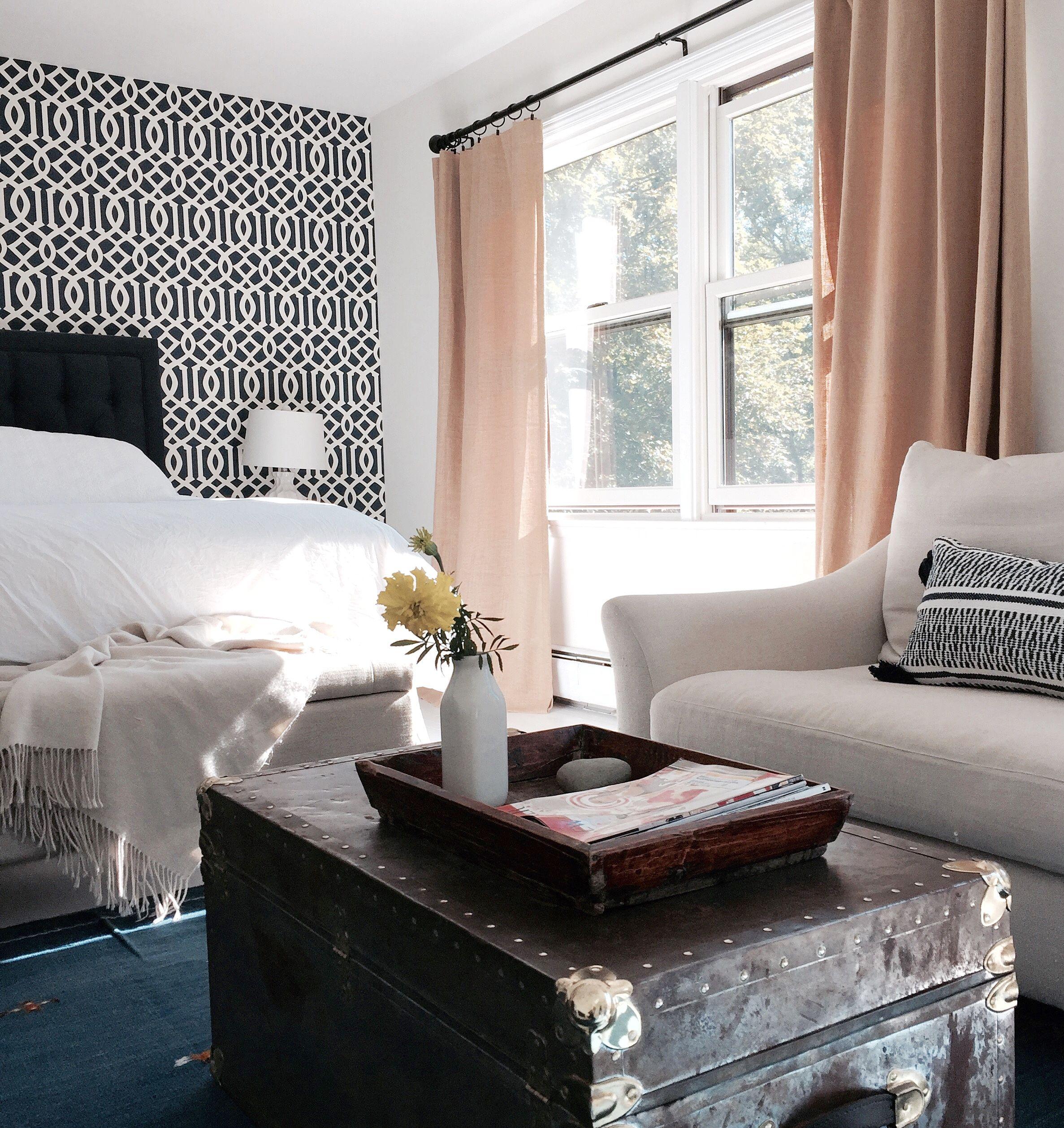 Modern Farmhouse Master Bedroom Farmhouse Style Tufted Headb