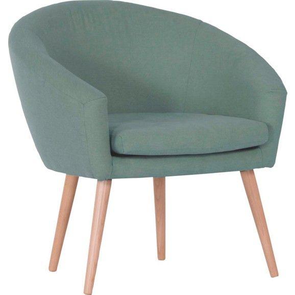 sessel im retro-look in aqua-blau - stilvoll und bequem für ihr, Möbel