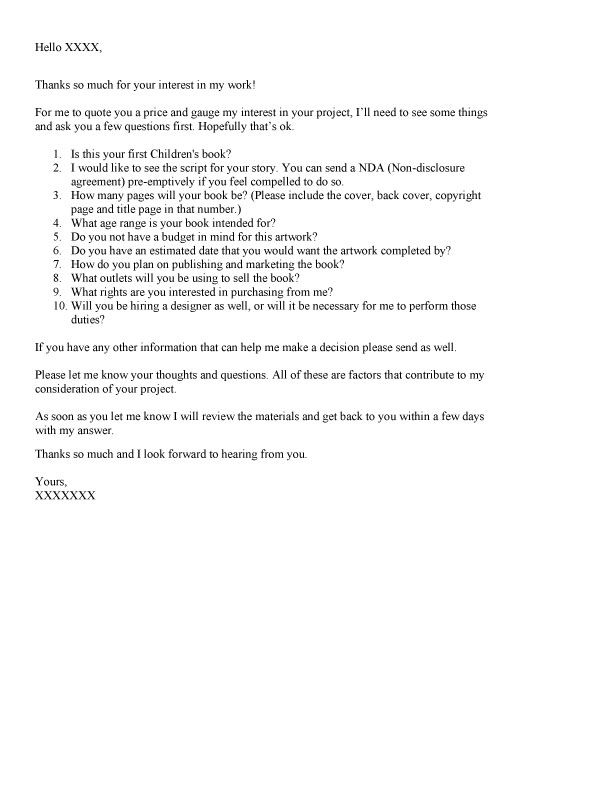 Sample query letters to literary agents for children s books query letter example how do you get published a list of ten spiritdancerdesigns Images