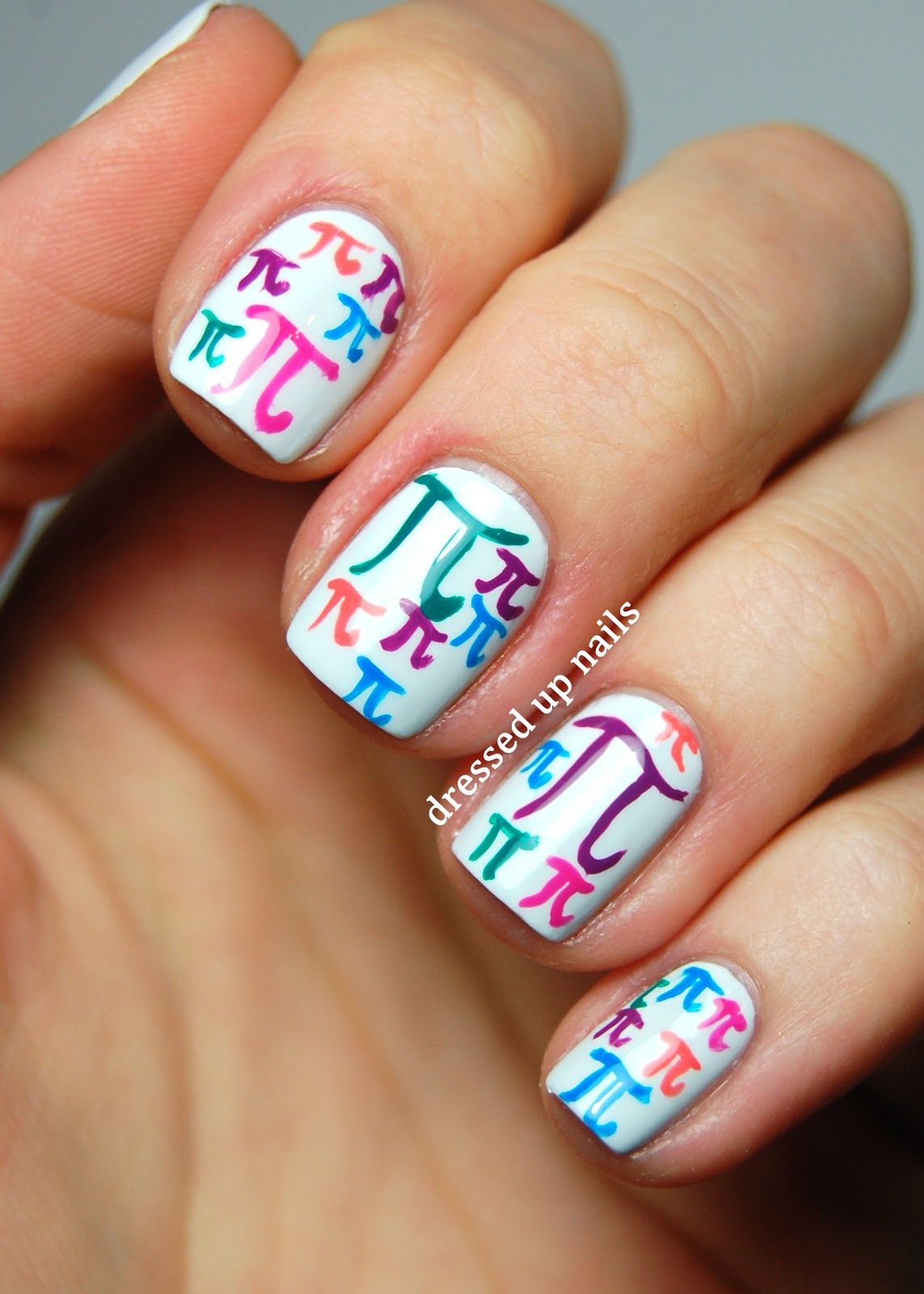Cute nails for all those math geeks in the world :) | Anerol ...