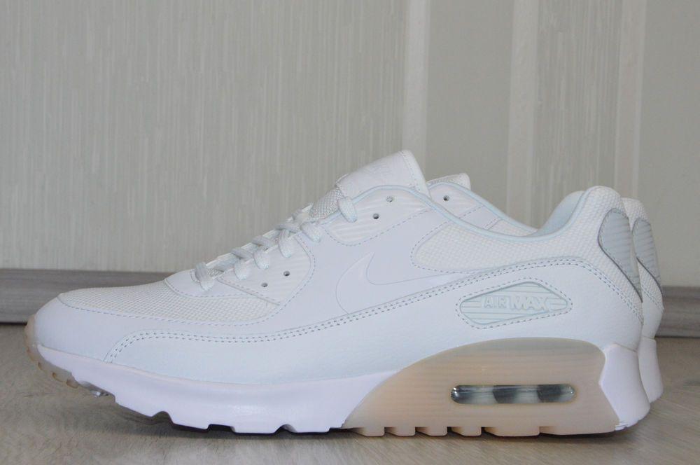 finest selection 7d637 c9db8 Nike Air Max W 90 Ultra Essential Gr.41 Damenschuhe Turnschuhe Sneaker Weiß  Neu