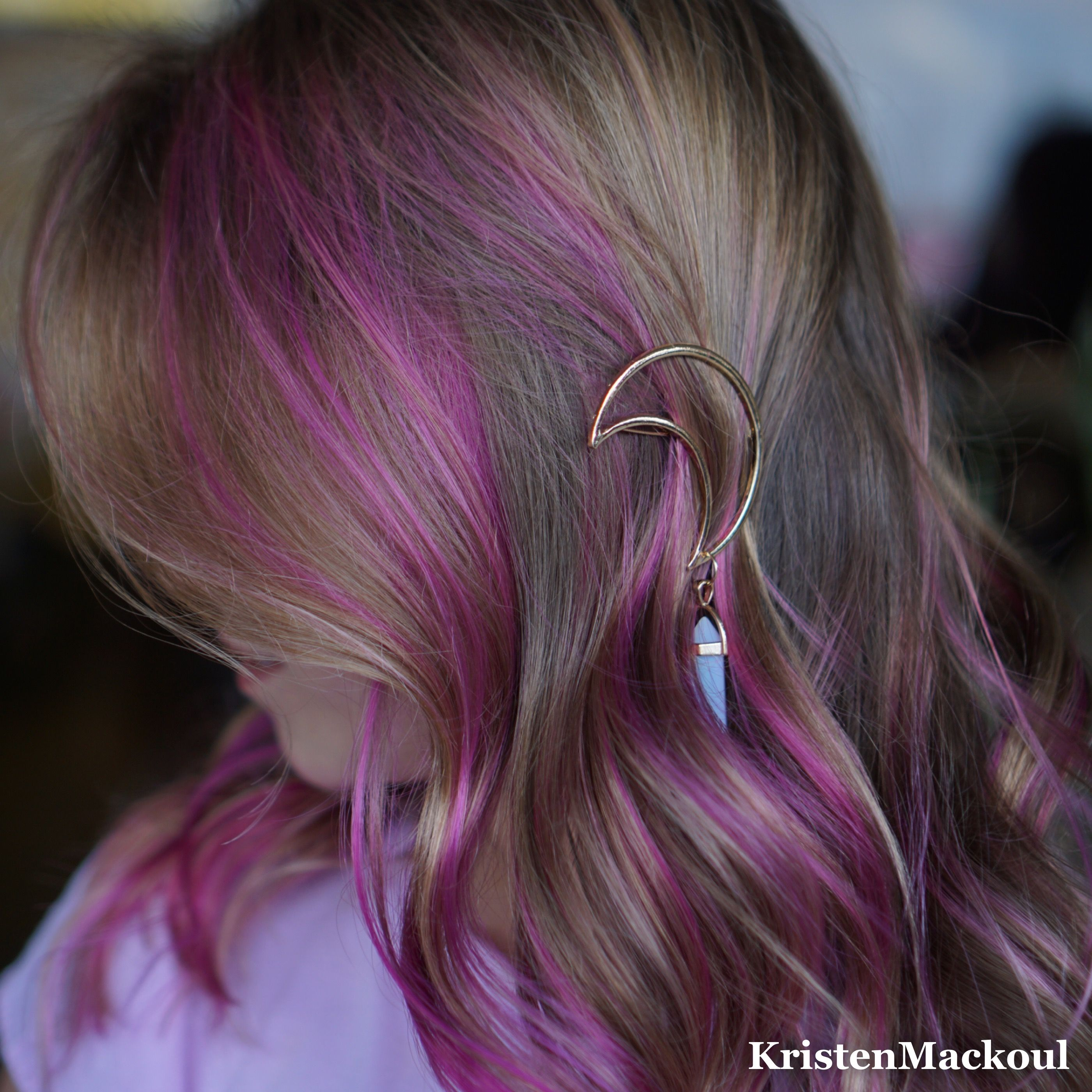 Pink Highlights For Kids Kristen Mackoul Hair Pinterest Pink