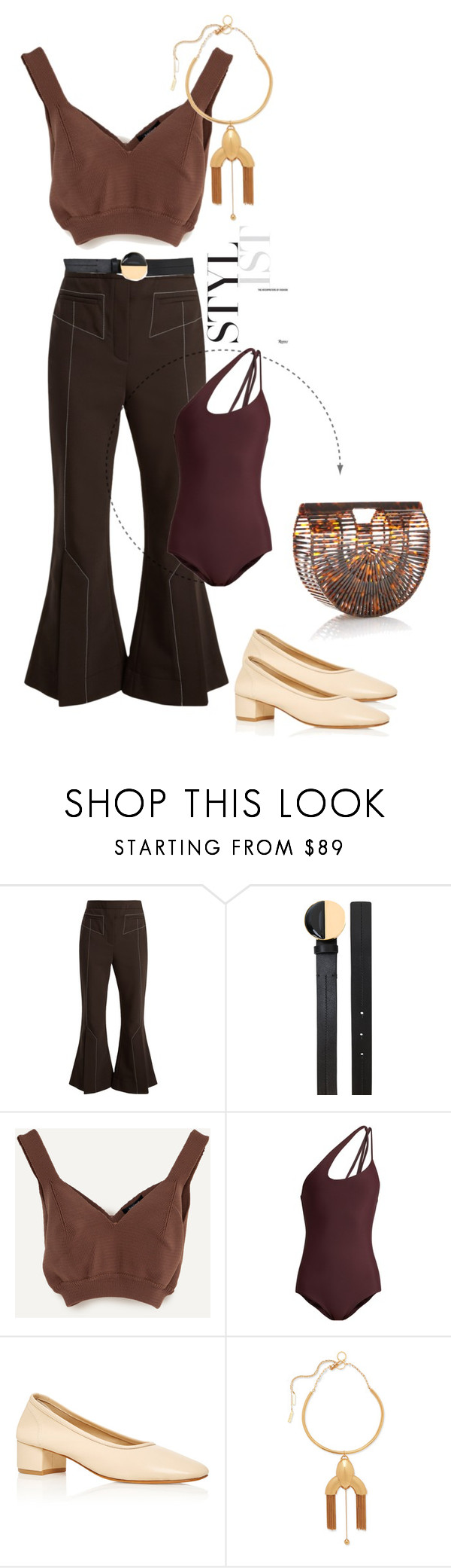"""S U M M E R //"" by statuslusso ❤ liked on Polyvore featuring Mikoh, Maryam Nassir Zadeh, Cult Gaia and Summer"