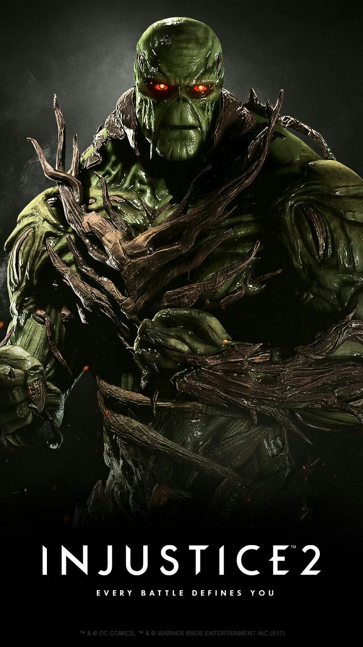 Swamp Thing Injustice 2 Desenhos De Super Herois Herois Dc