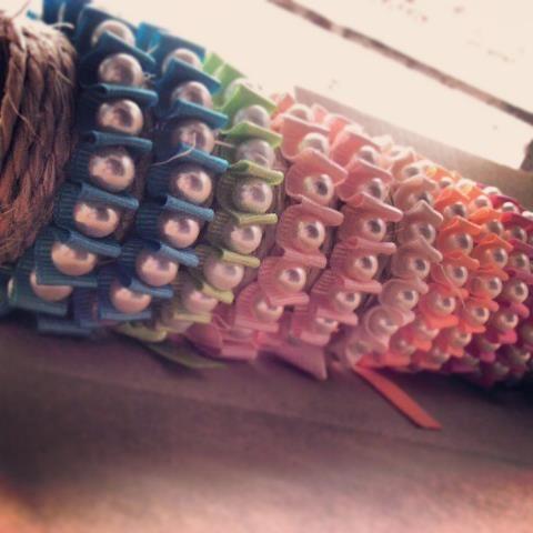 Más variedad de colores en pulseras PK's