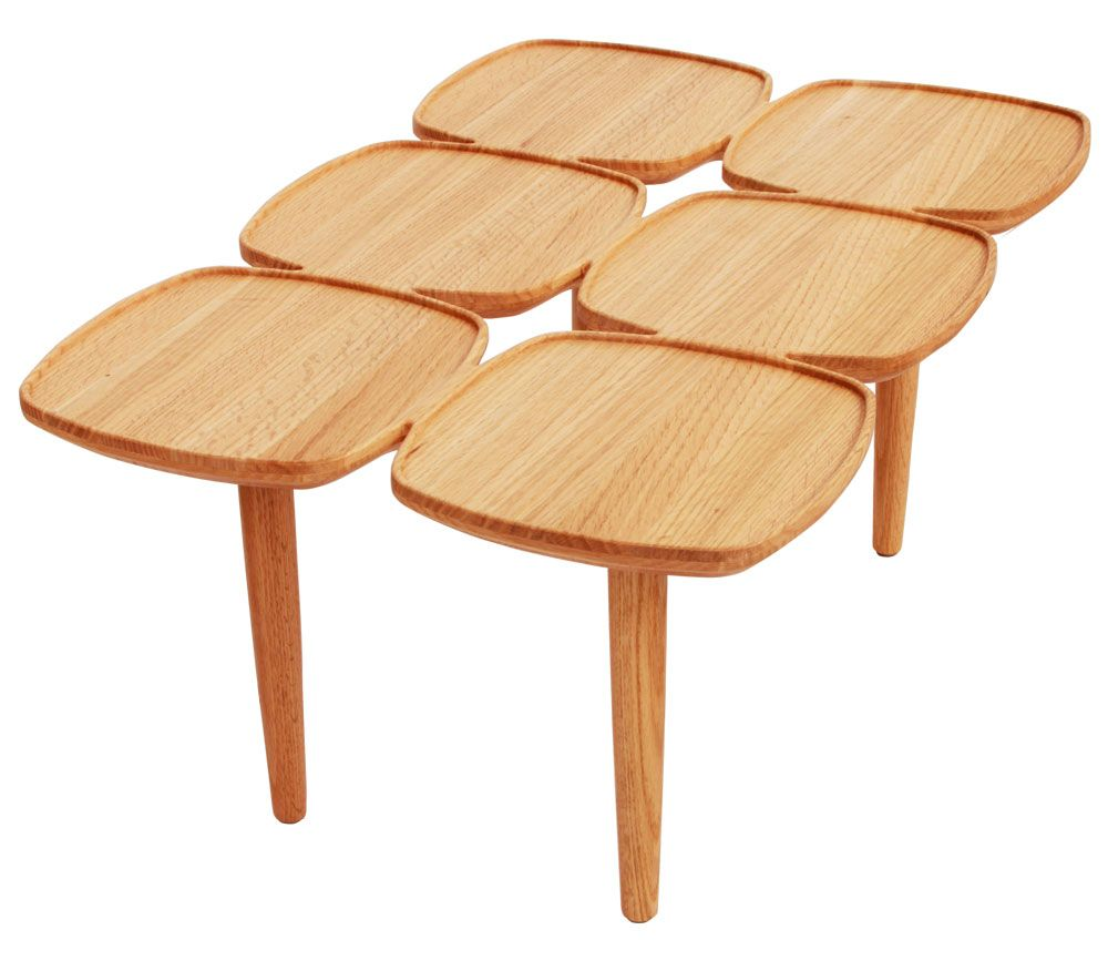 Matt Blatt Eames Coffee Table: The Matt Blatt Petal Coffee Table 75 X 50 $495