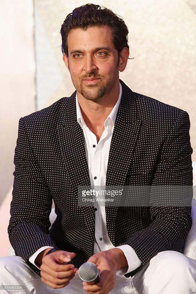 Hrithik Roshan Attends The Iifa 2015 Press Conference Held At Grand