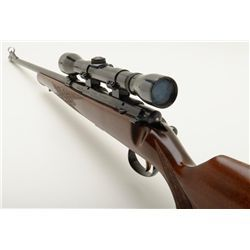 Savage Anschutz Model 54 Sporter bolt action rifle, cal..22 LR, serial #733197. This rifle is in ver