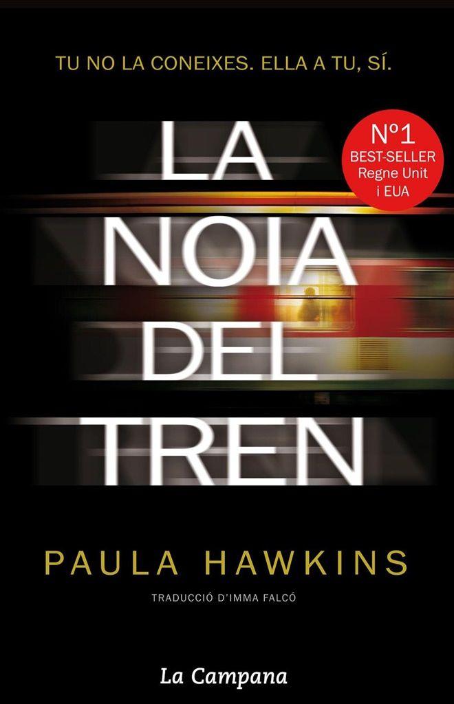 NOVETAT ESTIU 2015 A BIBLIOLLORET - La noia del tren de Paula Hawkins
