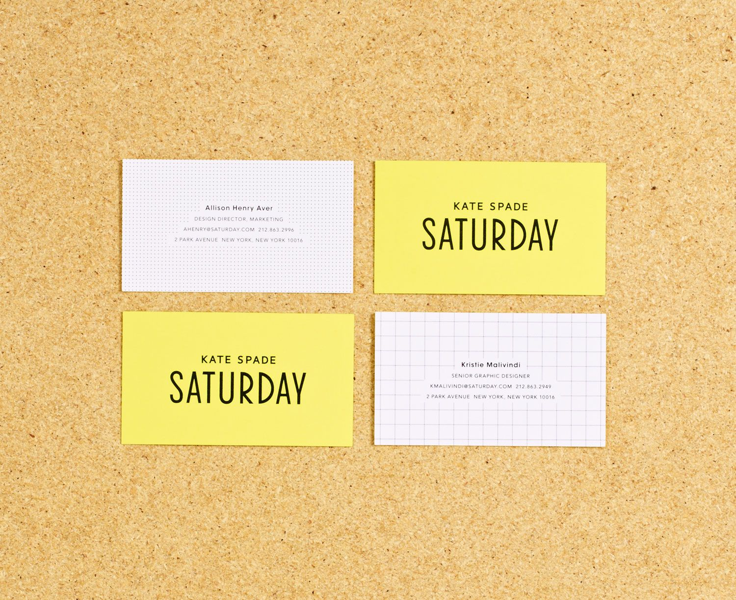 Kate spade saturday business cards sign u graphic pinterest