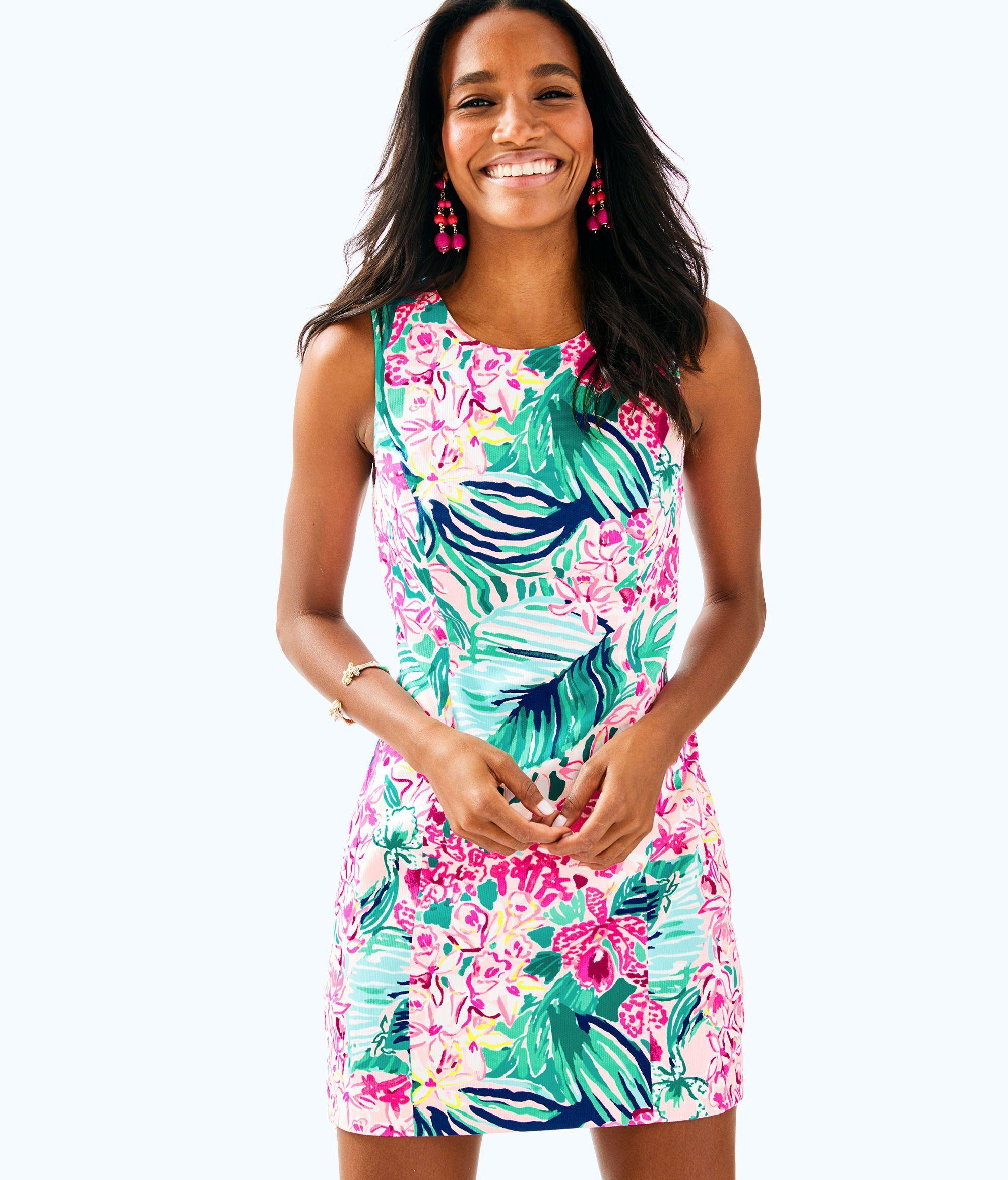 d23414b1a5f5 Lilly Pulitzer Mila Stretch Shift Dress - Multi Via Flora