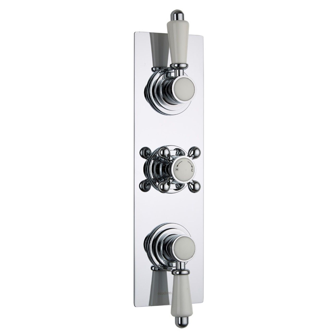Traditional Concealed 3 Outlet Triple With Diverter Thermostatic