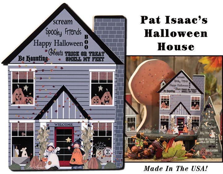 KP Creek Gifts - Halloween Chunky House