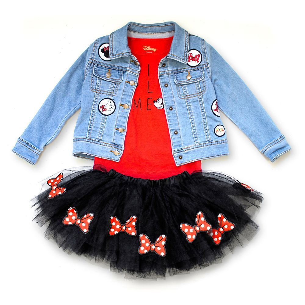 Minnie Mouse Skirt Set Tutu Couture Girls Official Shopdisney Thrifteesdeal Disney Toddler Outfits Disneyland Outfits Minnie Mouse Skirt [ 1000 x 1000 Pixel ]