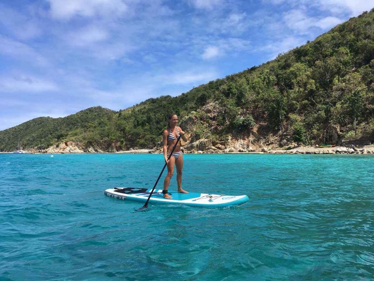 Goosehill rainbow r inflatable paddleboard amazon us 15