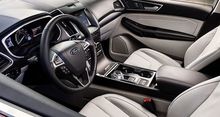 2019 Ford Edge Interior 2019 Ford Ford Edge Ford