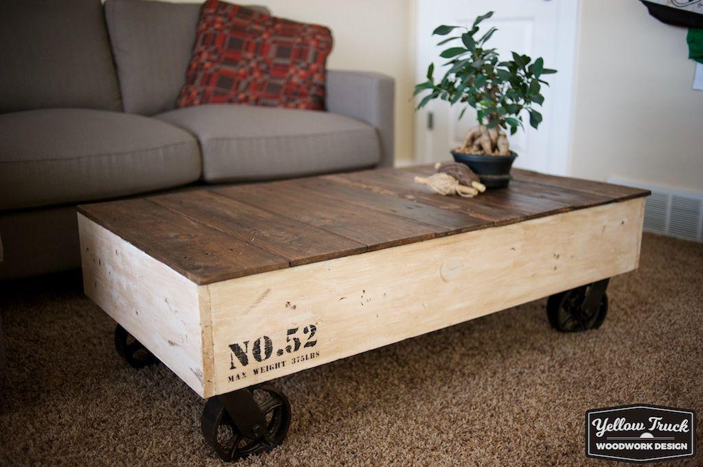 Ana White Factory Cart Coffee Table Diy Projects Cart Coffee Table Coffee Table Wood Table Diy