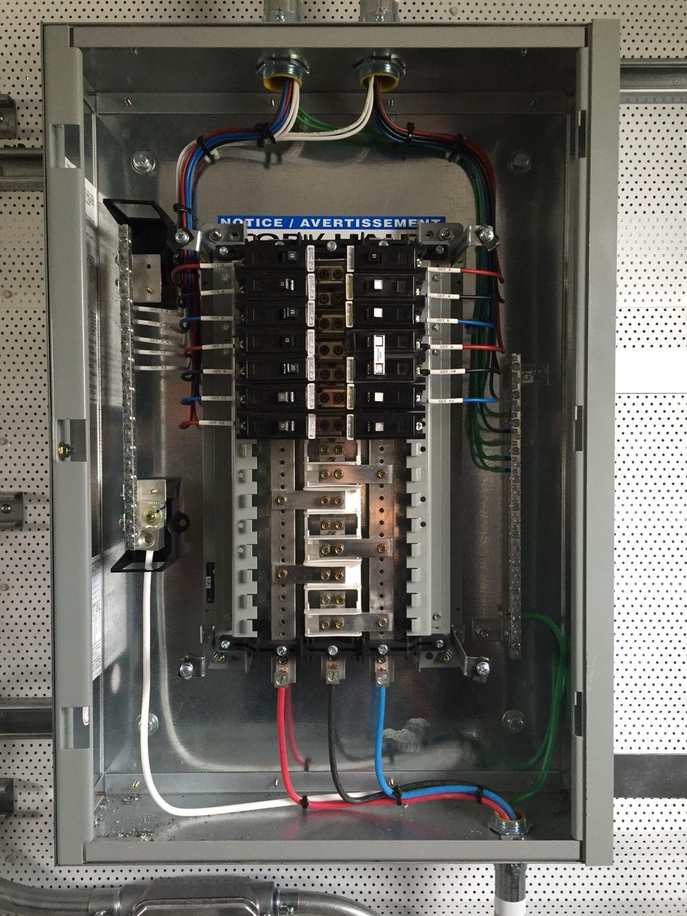 Lighting panel | Electricidad, Proyectos eléctricos, Cableado eléctricoPinterest