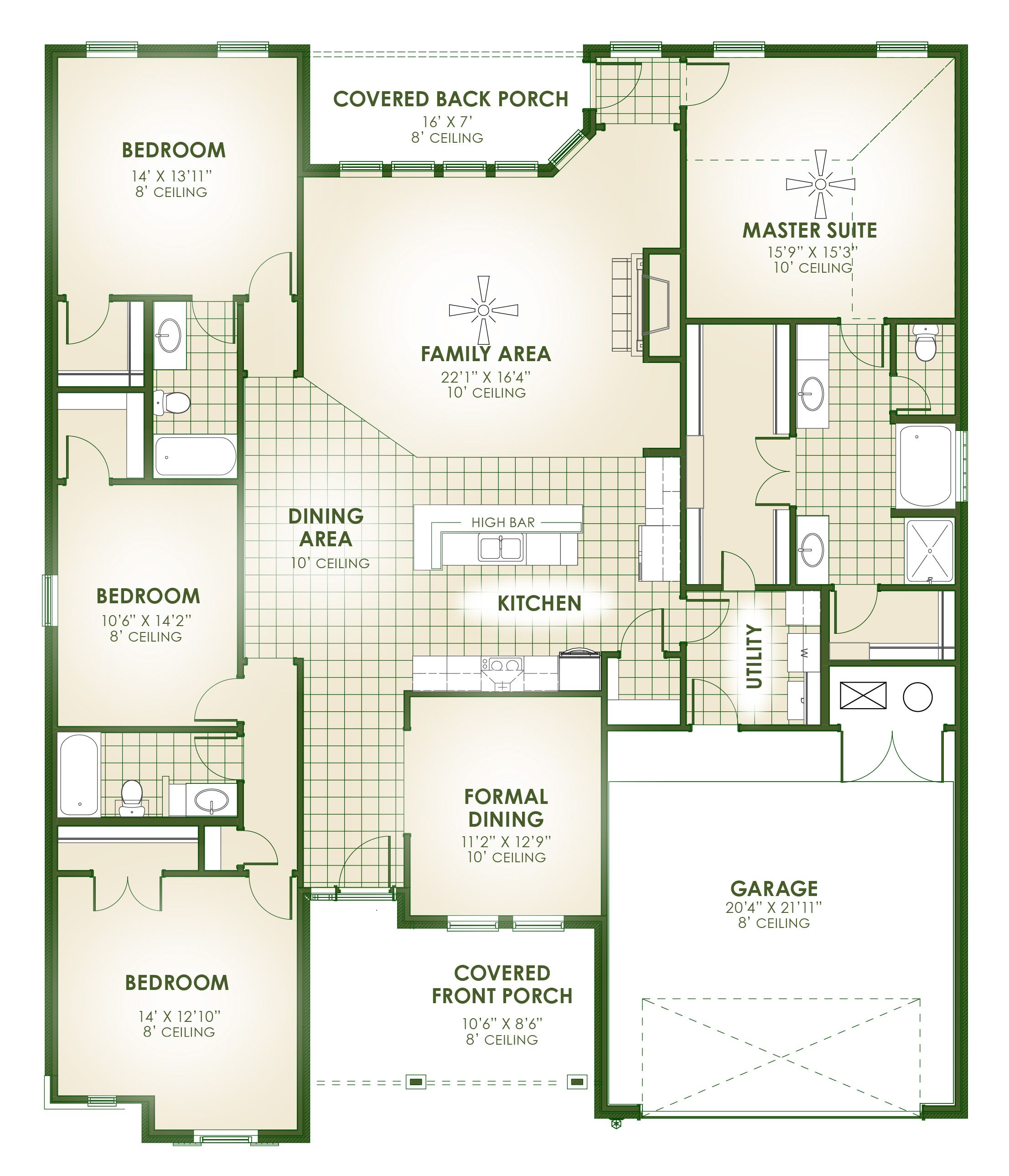 Holley Schuber Mitchell Homes Simspiriation – Mitchell Homes Floor Plans