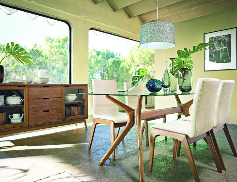 Todos a la mesa! | Dinning room decor | Comedores de cristal ...