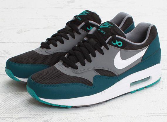 1 Sneakernews Air Turquoise Essential Nike Max Midnight Black ChsrdQt