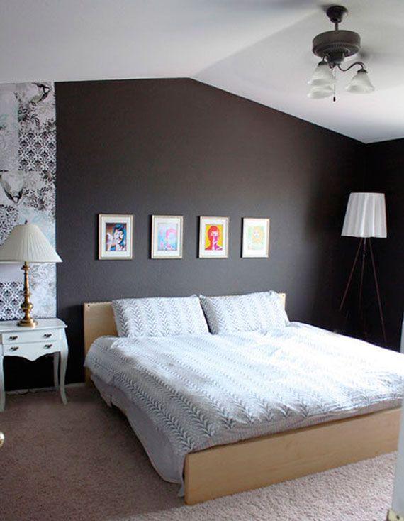 Quarto cinza  Quartos and Interiors