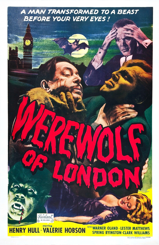 Werewolf Of London 1935 Usa Classic Horror Movies Posters Movie Posters Horror Movie Posters