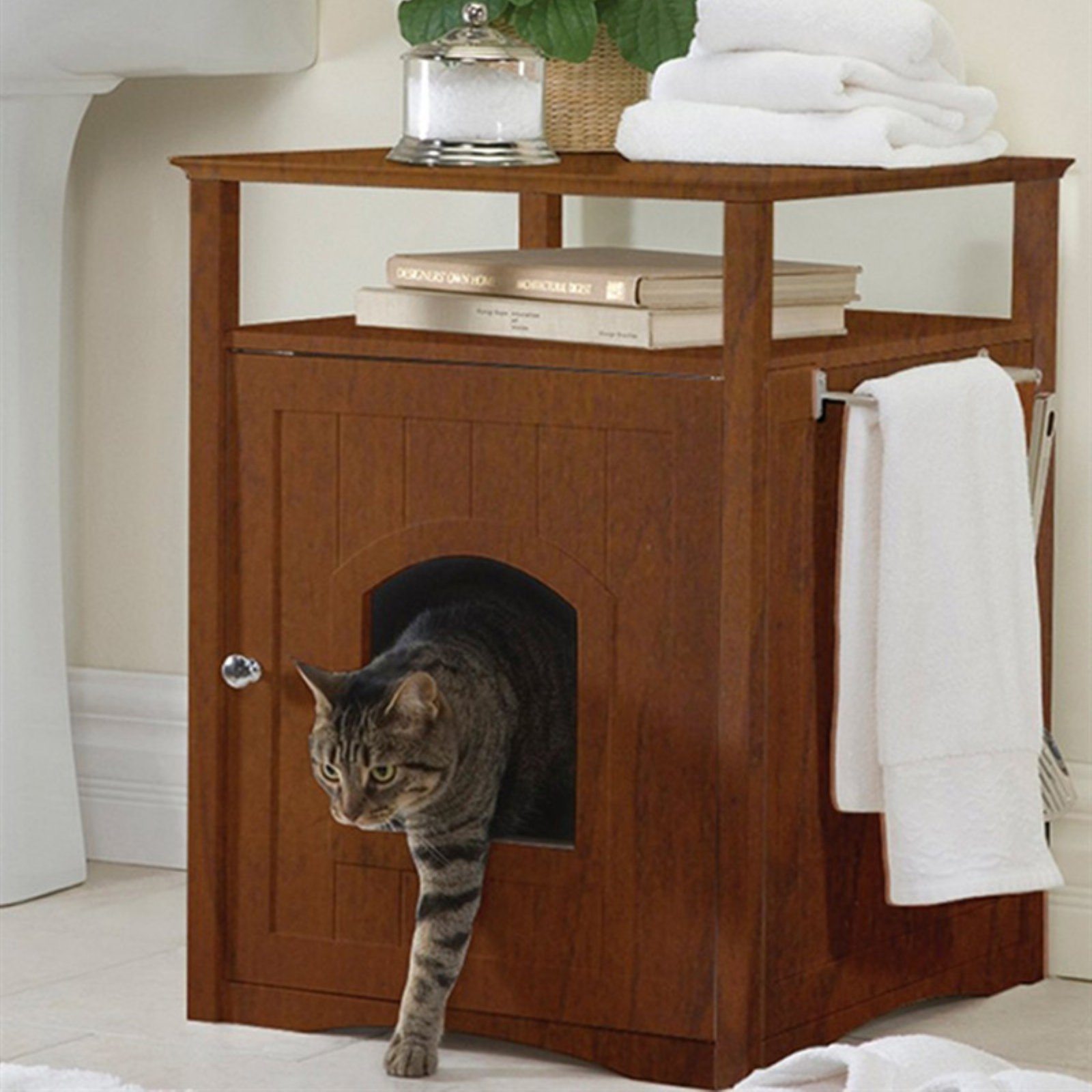 Merry Products Pet House Litter Box End Table In 2019 Space