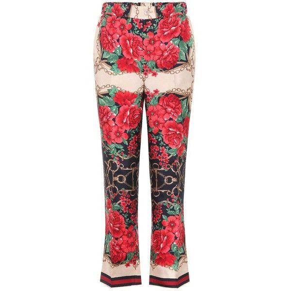 floral-print jeans - Multicolour Gucci 88Shr2uZ