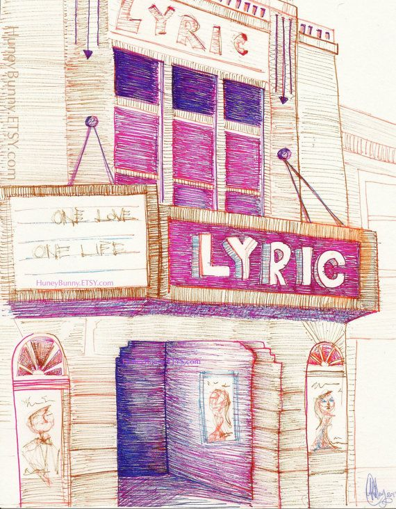 THE LYRIC- a downtown Blacksburg staple
