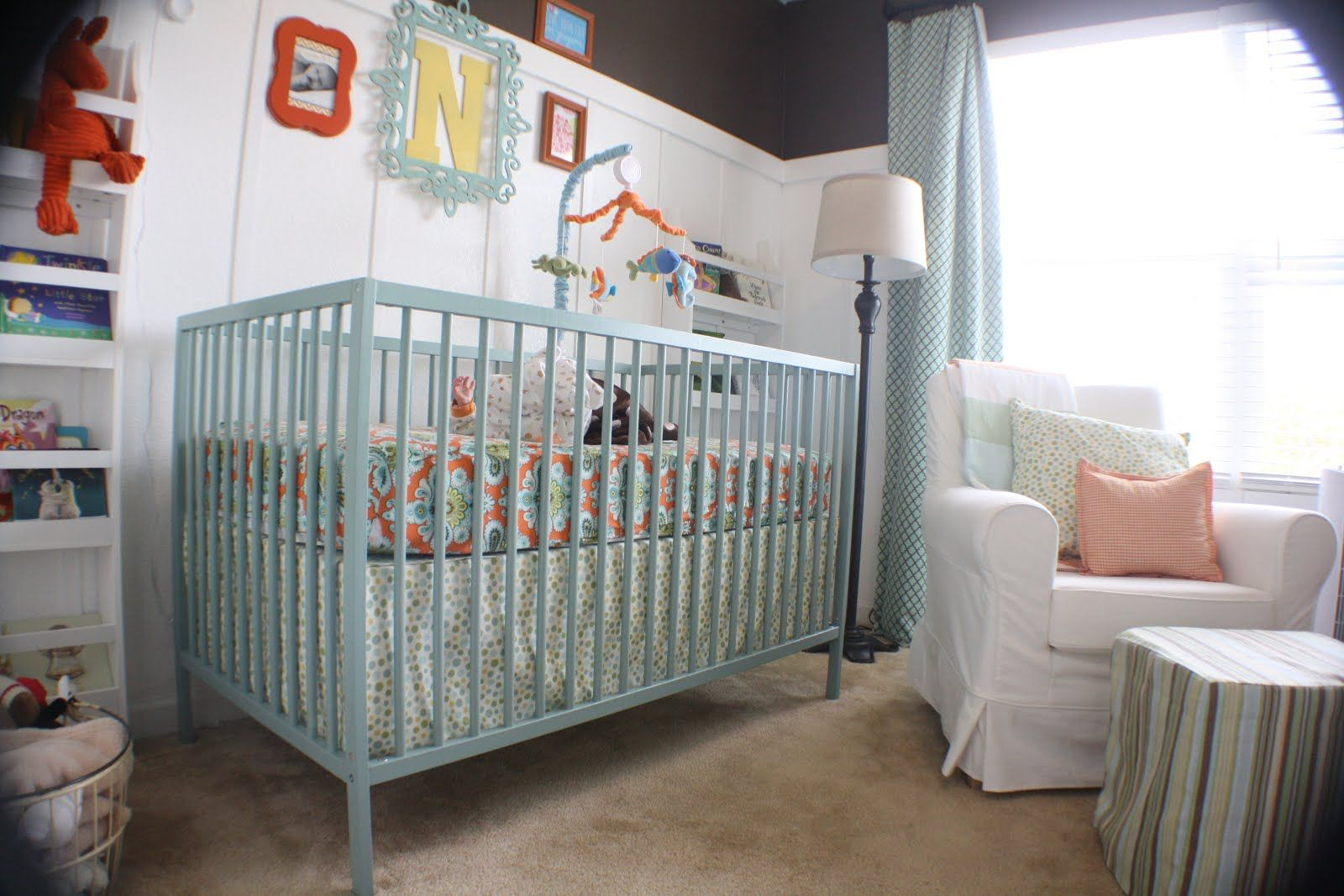 Image result for painting sniglar crib