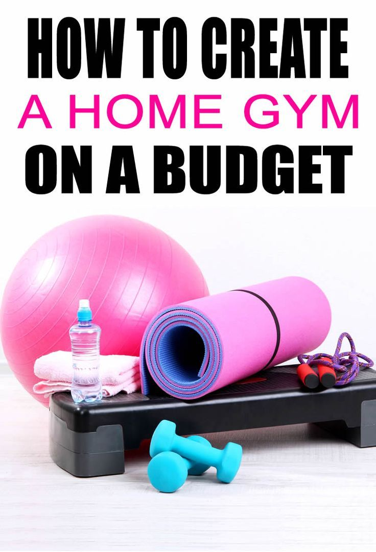 Budget Friendly Home Gym Essentials – How To Create A Home Gym On A Budget images