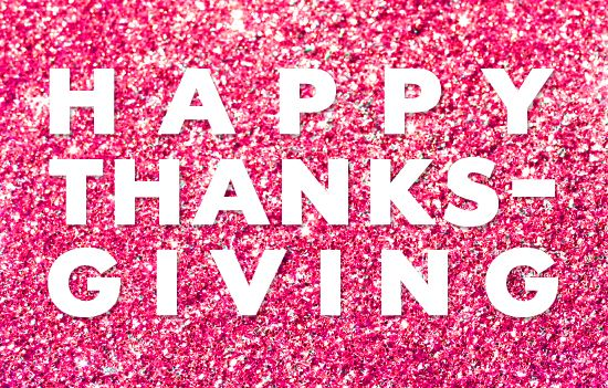 Kate Spade: happy thanksgiving