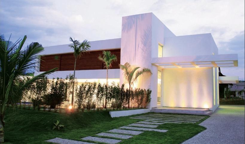 Casas Modernas Famosas Pela Suas Formas Geometricas A Falta De