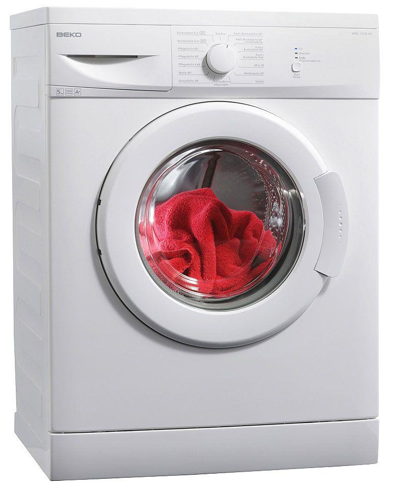 BEKO Waschmaschine WML 15106 MNE+, 5 kg, 1000 U/Min | wama ...