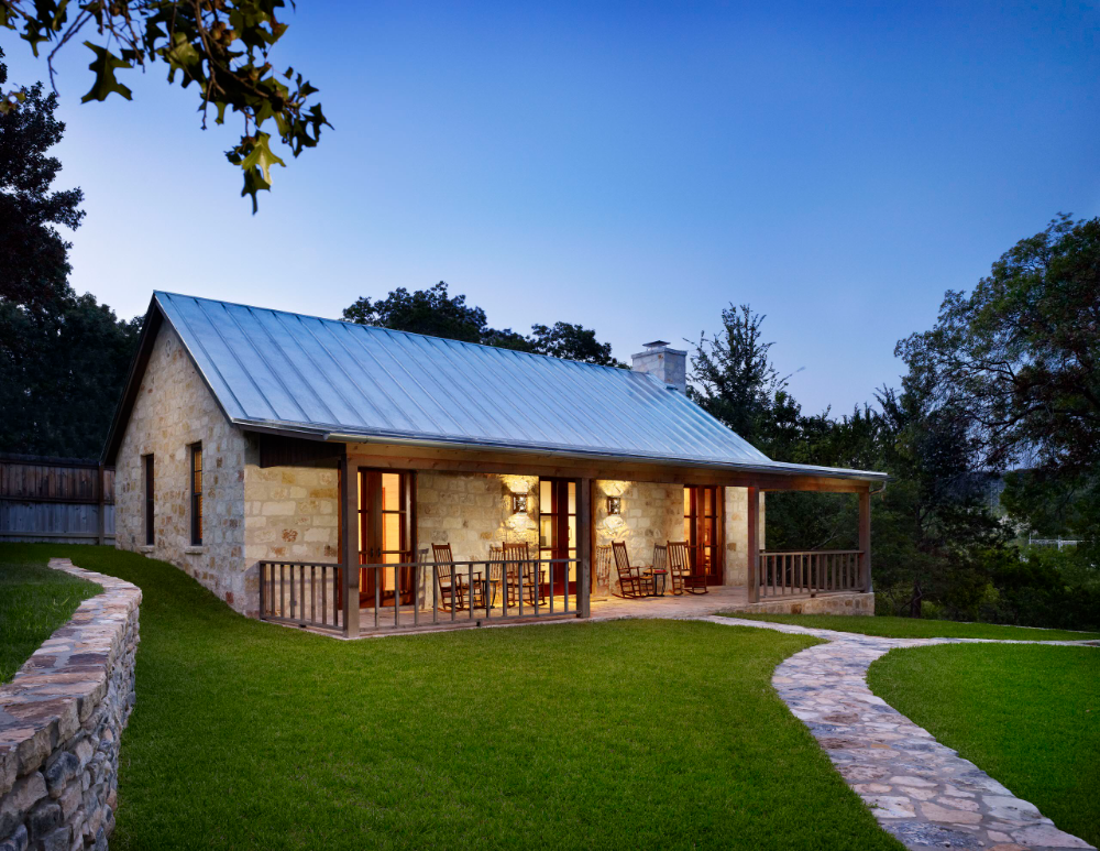Hill Country Retreat Country House Exterior Houston by Northworks Architects Planners
