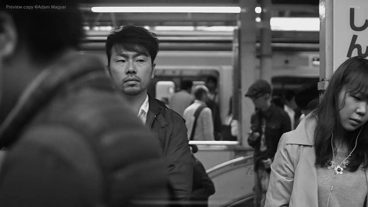 Adam Magyar, Stainless - Shinjuku. High speed video recording in Tokyo at Shinjuku station.  full video: 11min. 11sec. 720p 50fps   www.magy...