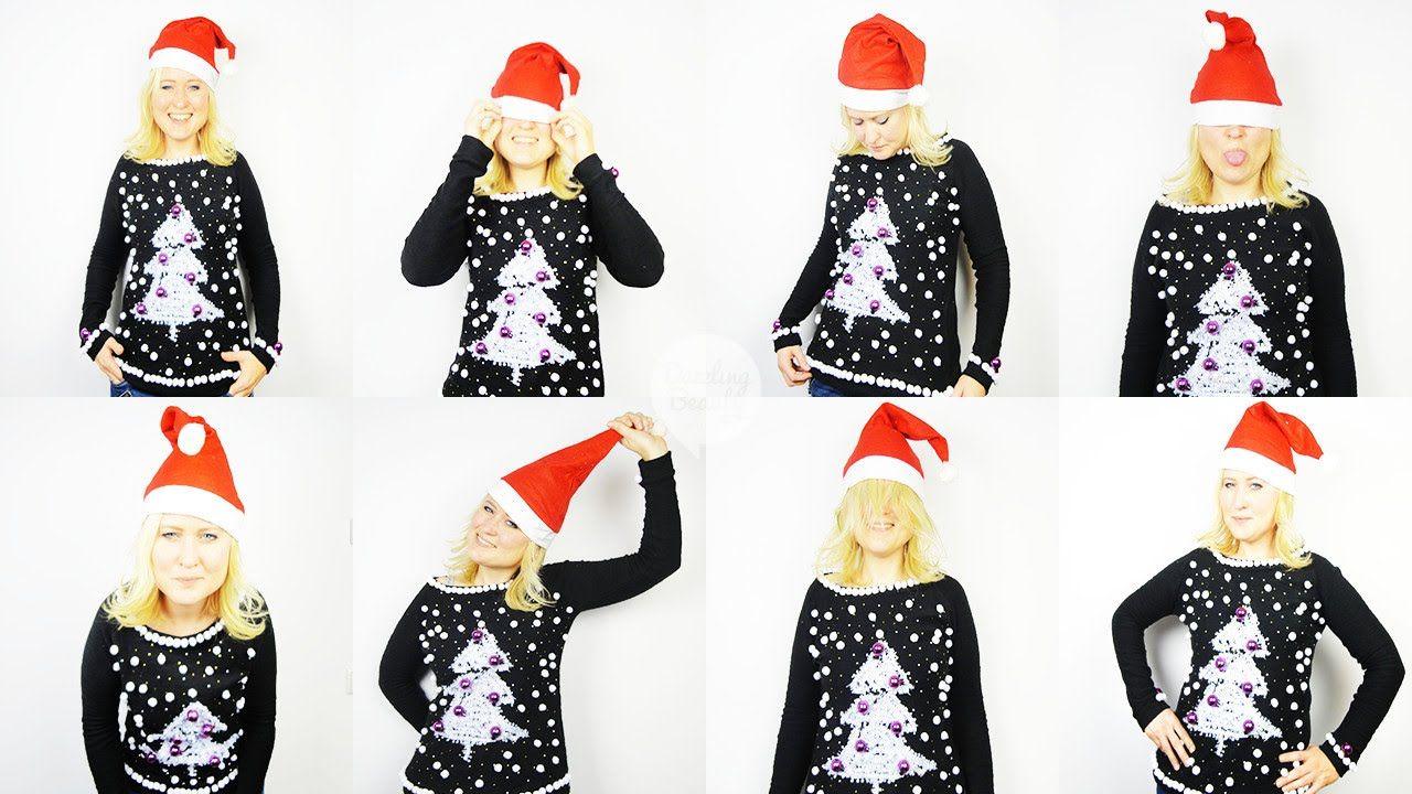 Extreem Foute Kersttrui.Diy Foute Kersttrui Diy Christmas Jumper Dazzling Beauty Kerst