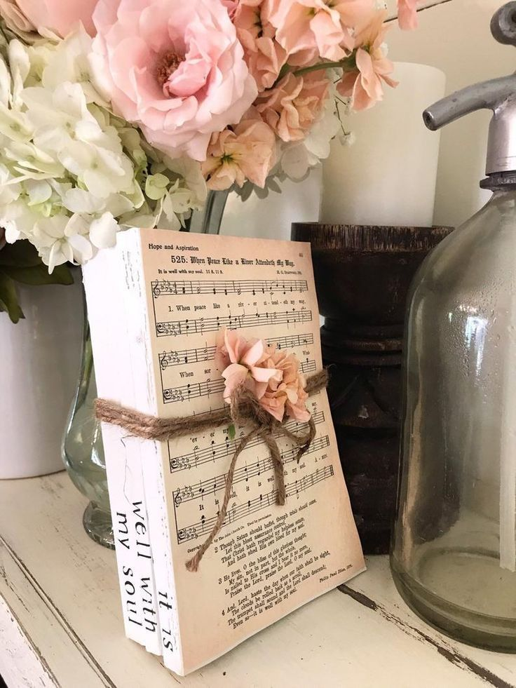 It is well with my soul vintage hymn page print stamped book bundle vintage book stacks sta It is well with my soul vintage hymn page print stamped book bundle vintage bo...