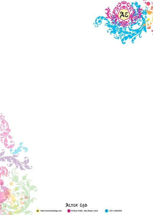 Business letter head design,graphic design company $59~$99 - company business letter