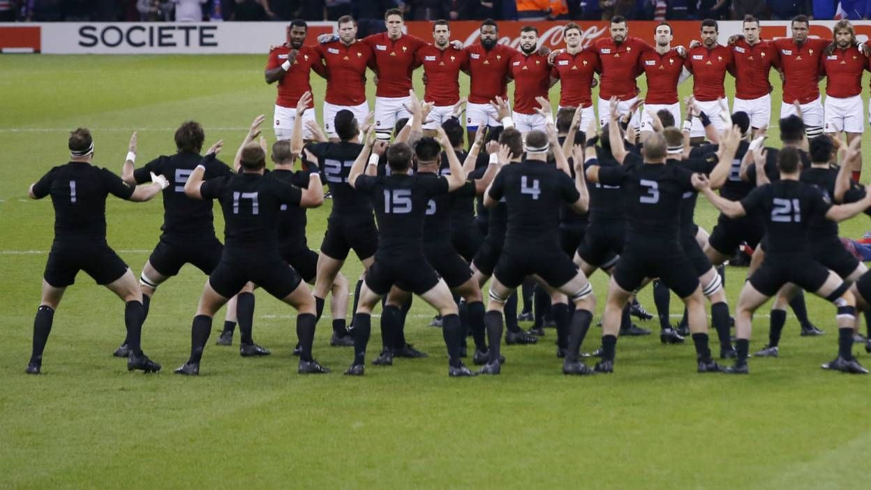 Rugby World Cup New Zealand thrash France Rugby world