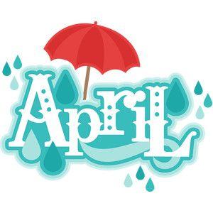 April cute. Silhouette design store childhood