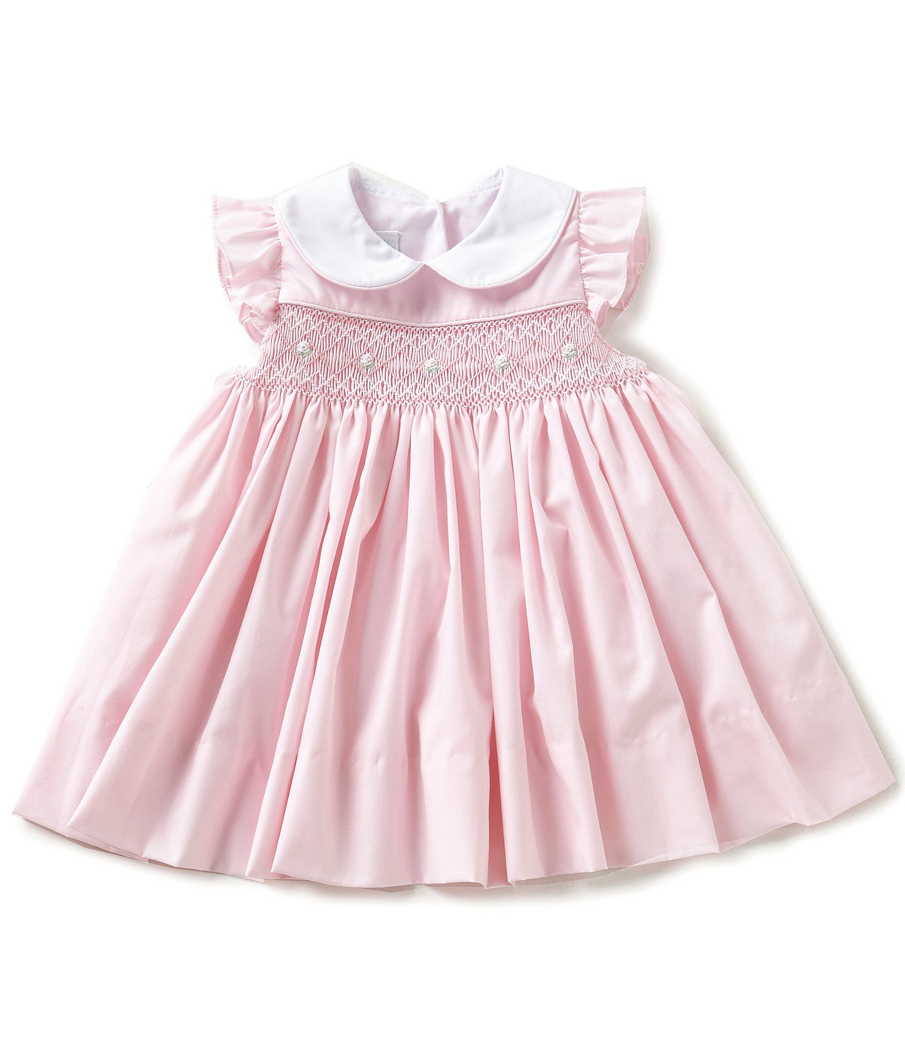 a379223e76d9 Shop for Edgehill Collection Baby Girls 3-24 Months Smocked Flutter-Sleeve  Dress at Dillards.com. Visit Dillards.com to find clothing