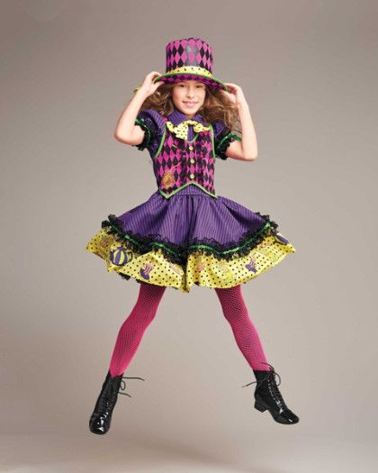 mad hatter girls costume ours exclusively invite friends to an un birthday - Mad Hatter Halloween Costume For Kids