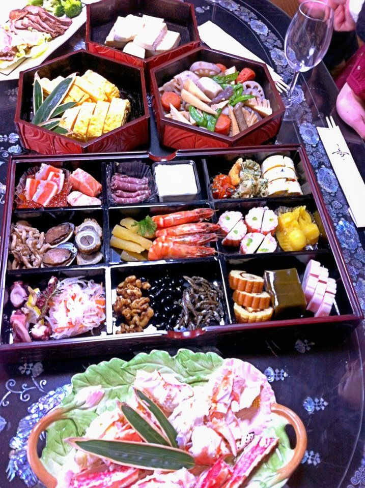 Japanese New Year's food is called Osechiryori. The