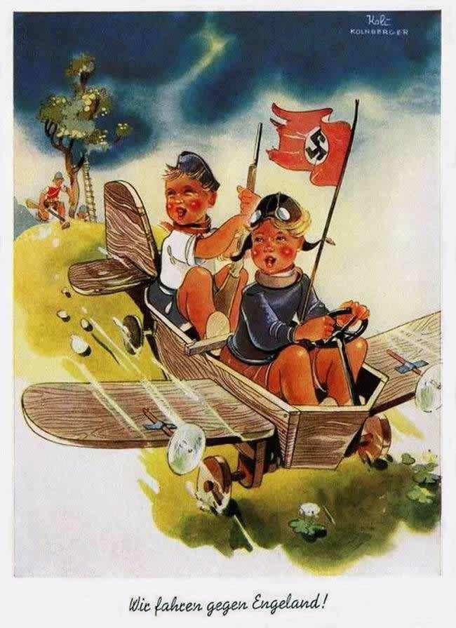 Немецкие открытки 2 мировой, поздравление днем повара