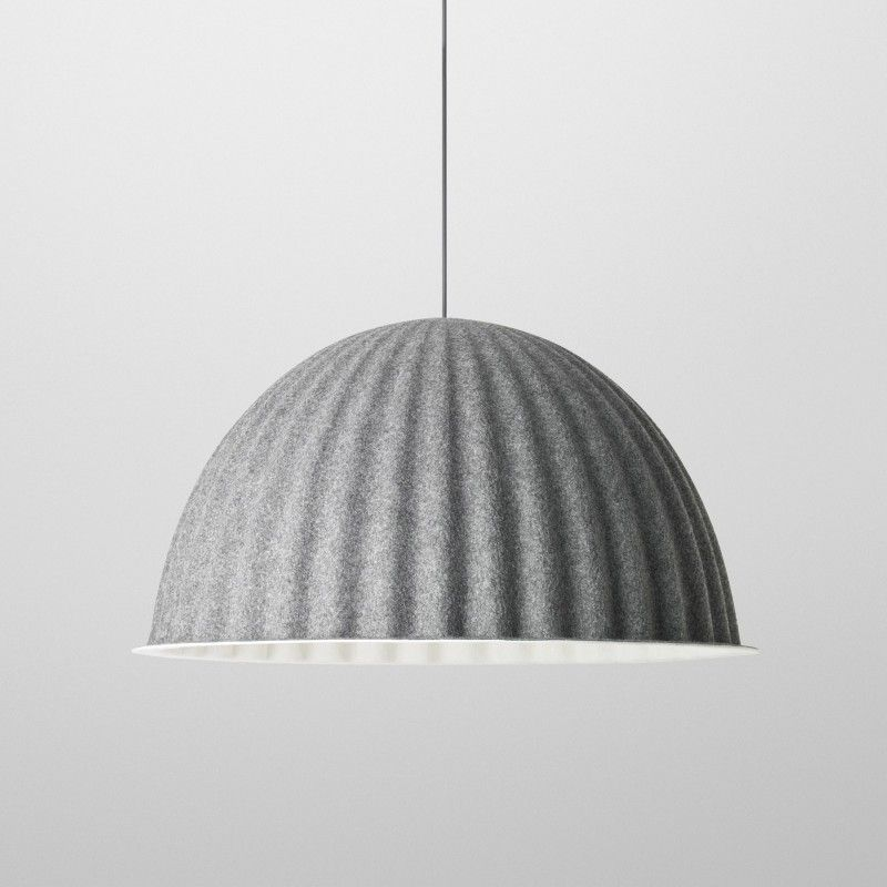 UNDER THE BELL pendant l& in acoustic felt - MUUTO via @mintinteriors.nl & UNDER THE BELL pendant lamp in acoustic felt - MUUTO via ... azcodes.com