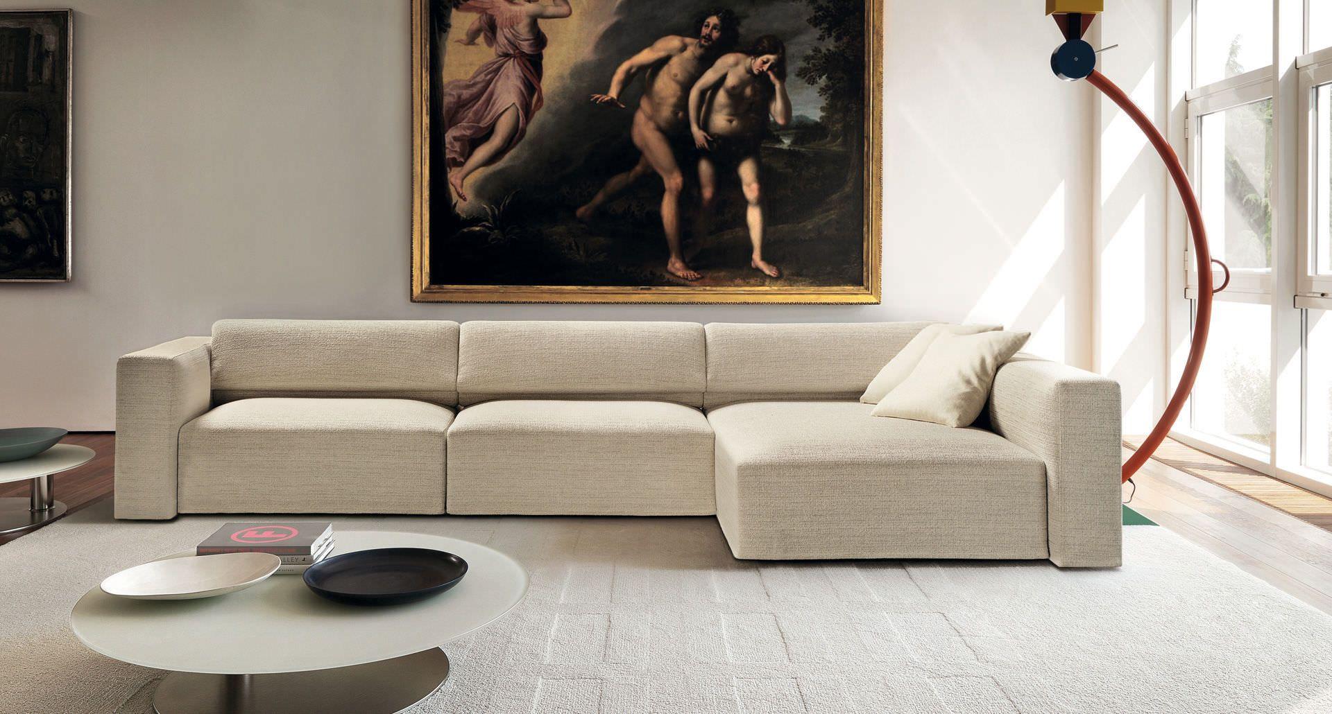 Corner Sofa Modular Contemporary Fabric Tibet By Studio Co